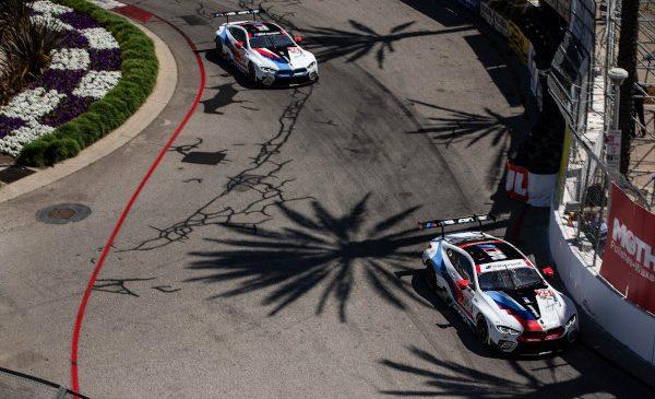 BMW Team RLL a încheiat IMSA Sports Car Grand Prix de la Long Beach pe locurile al şaptelea şi al optulea