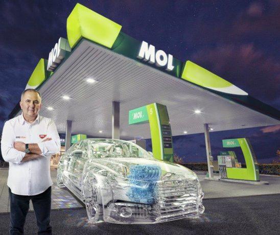 Titi Aur recomandă carburanţii MOL EVO pentru 100% grijă