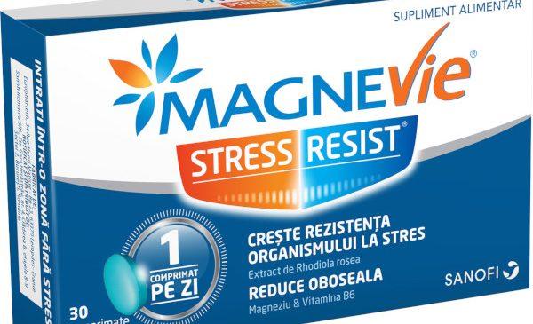 """Stresul și """"dramele din orice"""" – concept inovativ pentru lansarea MagneVie Stress Resist®"""