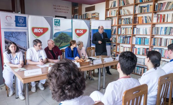 MOL România și Fundația pentru Parteneriat donează echipamente medicale moderne către Spitalul Județean de Urgență din Miercurea Ciuc