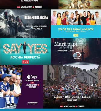 Noutățile de Paște și 1 mai pe canalele din portofoliul Discovery