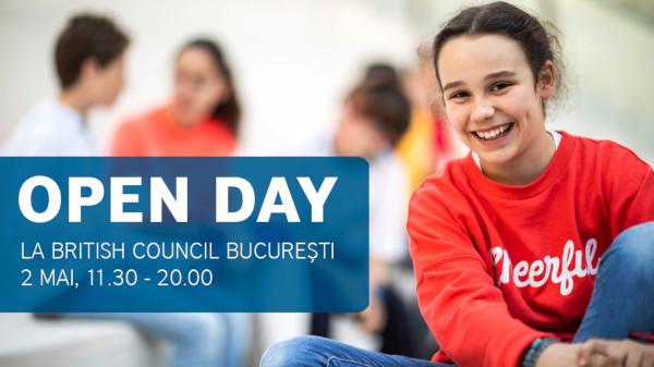 Părinți și copii, invitați să descopere engleza în familie la British Council Open Day