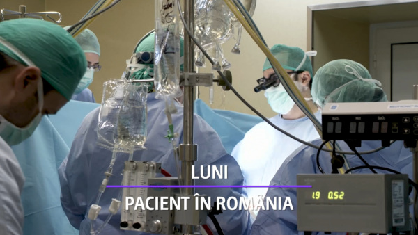 Pacient in Romania