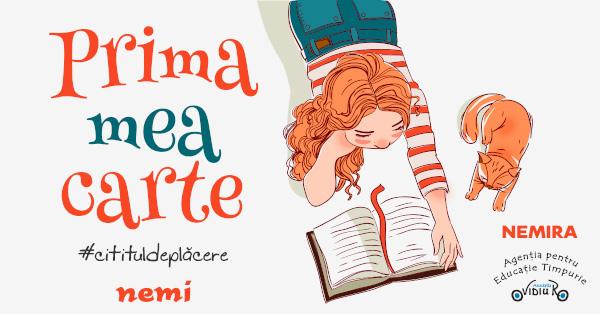 Prima mea carte – o campanie Nemi și OvidiuRo de Ziua Internațională a Cărții pentru Copii și Tineri
