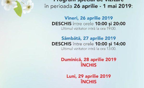 Muzeul Antipa, deschis în a treia zi de Paște, precum și de 1 mai