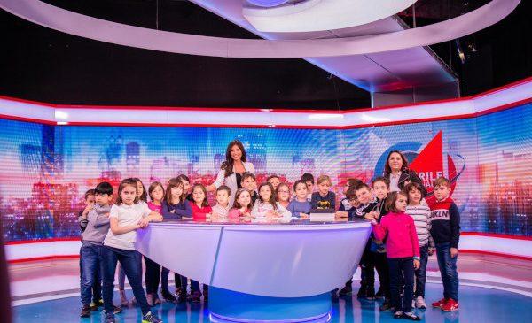 Sute de copii au luat cu asalt studiourile Kanal D