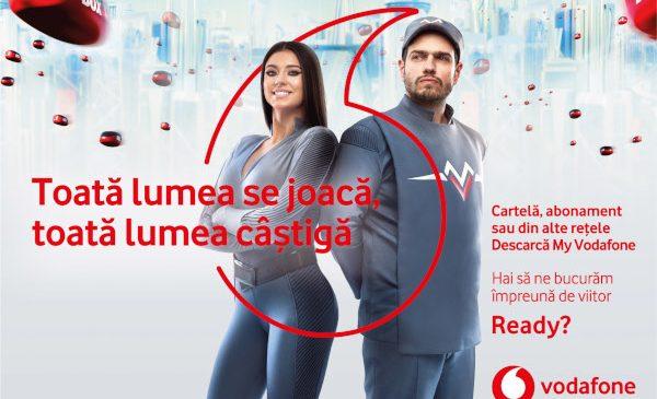 În campania specială de primăvară, milioane de premii în aplicația My Vodafone, pentru utilizatorii tuturor rețelelor mobile