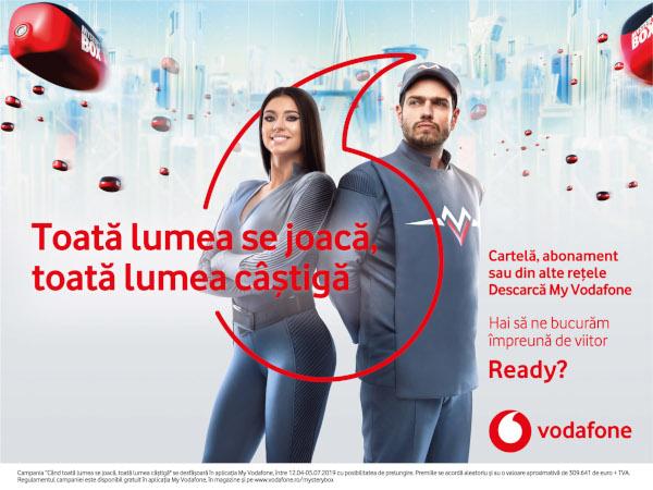 Spring campaign Vodafone KV