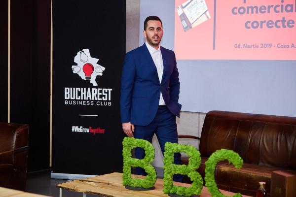 Vlad Mihalachiou, Bucharest Business Club
