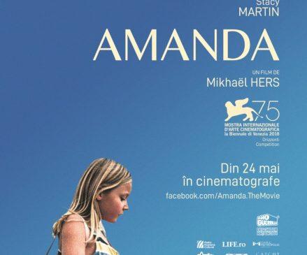 Amanda – un film duios, de o delicatețe rară, cu o perspectivă optimistă – acum în cinematografe