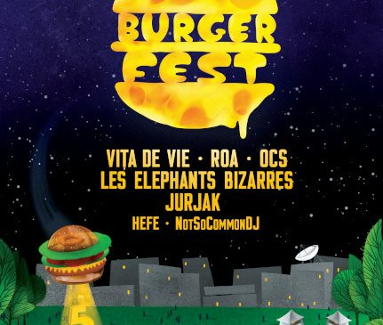 Indie, electro, rock alternativ și electro blues la BURGERFEST 2019