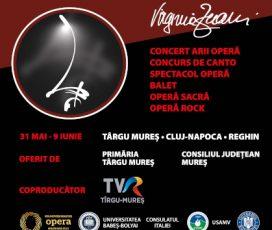 """Profesioniști din elita operei mondiale vin în Transilvania pentru Festivalul Regal de Operă """"Virginia Zeani"""""""