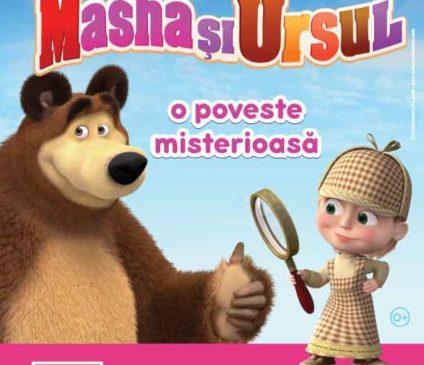 Andra Gogan îi dă din nou voce Mashei în spectacolul Poveste Misterioasă