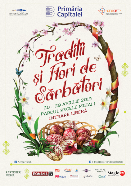 afis Traditii si Flori de Sarbatori 2019