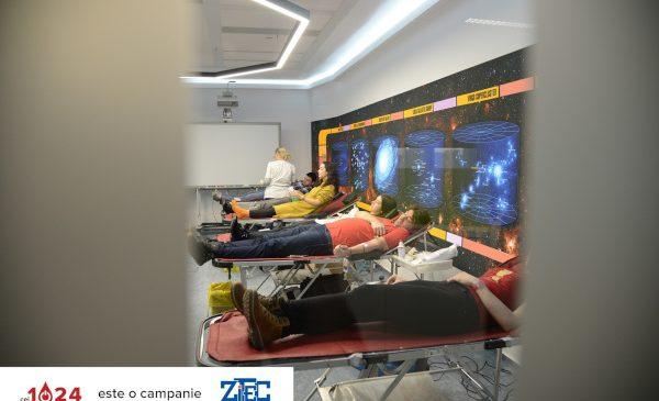 Campania de donare de sânge la birou #cei1024 a depășit numărul de 10.000 de vieți salvate