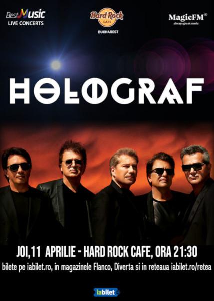 concert Holograf, Hard Rock Cafe, 11 aprilie