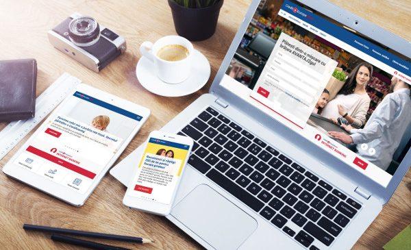 Credit Europe Bank a relansat website-ul instituției și deschide un nou capitol spre digitalizare alături de Zitec