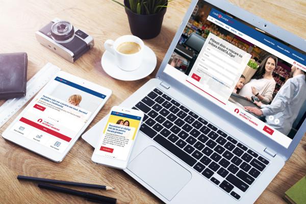 Credit Europe Bank lansare site