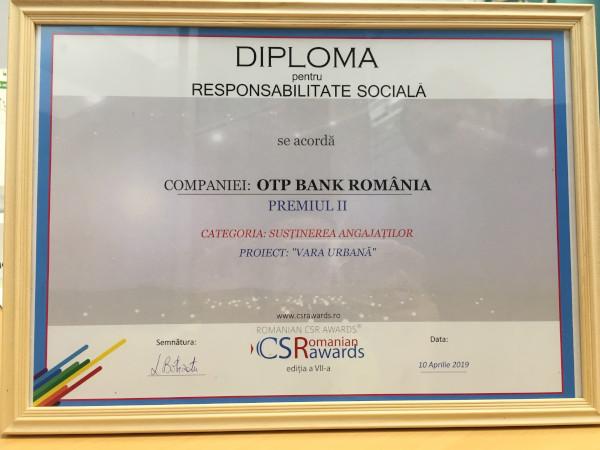 loc 2 Sustinerea Angajatilor, Romanian CSR Awards 2019