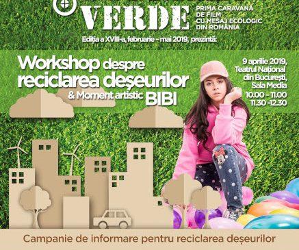 Eveniment aniversar Guerilla Verde – discuţii despre colectarea separată a deşeurilor şi moment artistic BIBI