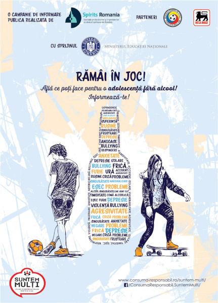 poster campanie Ramai in joc