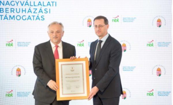 MOL construieşte o nouă fabrică de bitum-cauciuc în Zalaegerszeg, Ungaria