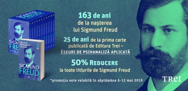 """""""Eseuri de psihanaliză aplicată"""" – prima carte publicată de Editura Trei în urmă cu 25 de ani"""