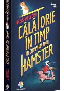 """Ross Welford, autorul bestsellerului """"Călătorie în timp în compania unui hamster"""", vine la București de Ziua Copilului"""