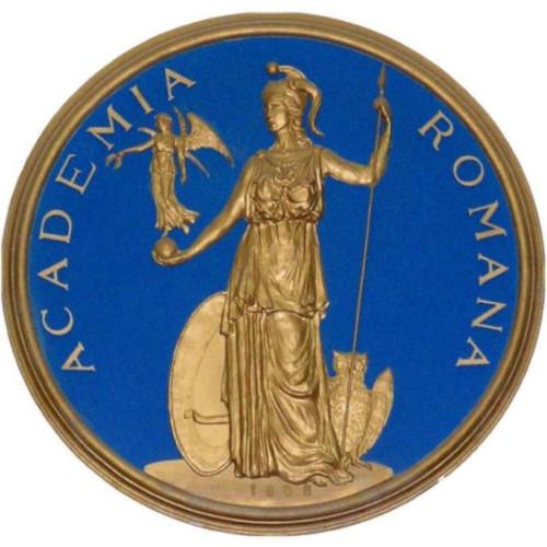 Academia Romana logo