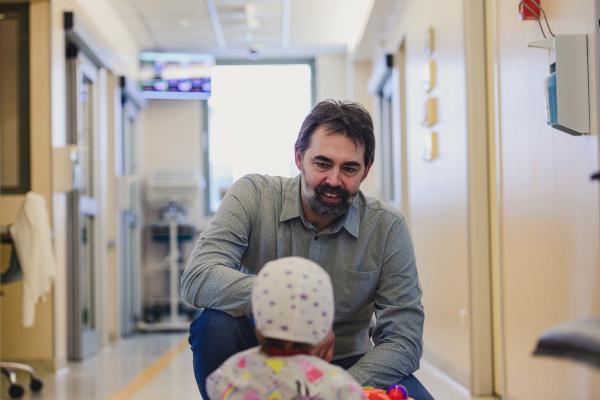 Alex Popa, presedintele Asociației Inima Copiilor
