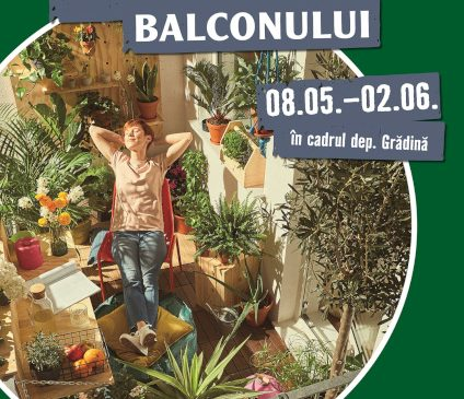 De la un simplu balcon, la o oază de relaxare – tema lunii mai la HORNBACH