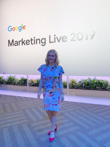 Anabela Luca, Google Marketing Live 2019
