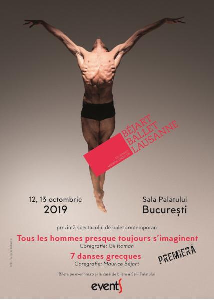 Bejart Ballet Lausanne Bucuresti 2019