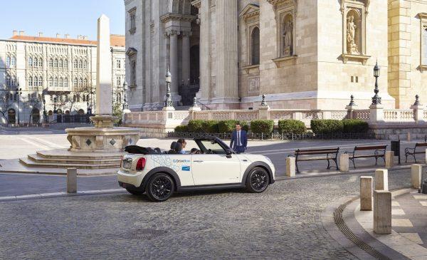 Serviciul DriveNow s-a lansat la Budapesta cu modele premium BMW şi MINI