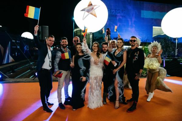 Ester Peony la deschiderea Eurovision 2019