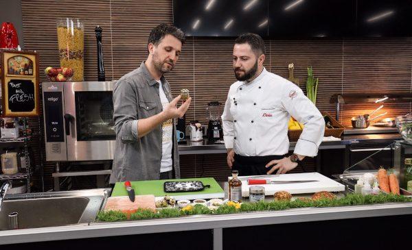 """Selgros și Andi Moisescu lansează """"Fast & Fresh"""", rubrică de fun culinar în cadrul ApropoTV"""
