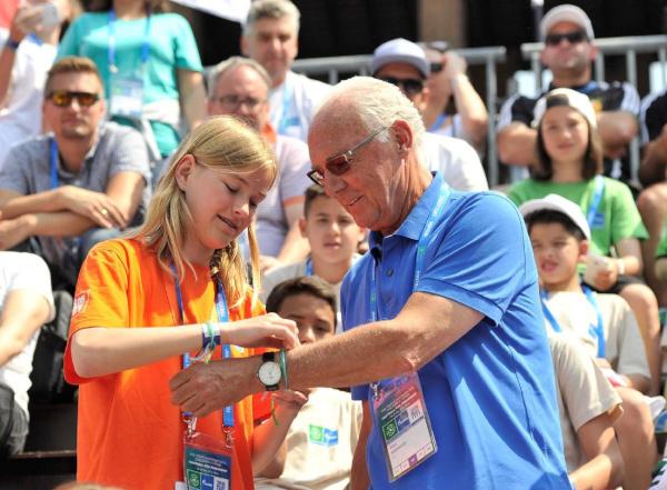 Franz Beckenbauer, ambasadorul global al Programului Fotbal pentru Prietenie