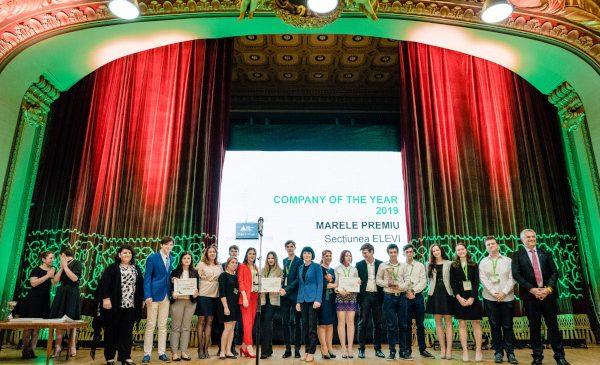 Elevii și studenții antreprenori, premiați la Gala JA Hall of Fame – Investește în Educație!®