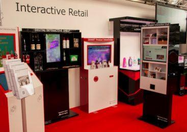 Divizia de Interactive Retail a agenției Syscom Digital, singura companie românească prezentă la Retail Expo, Londra mai 2019