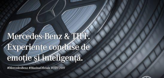 Mercedes-Benz – Mașina Oficială a TIFF, pentru al treisprezecelea anComunicat de presă