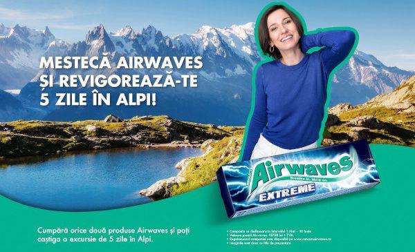 Mestecă Airwaves și revigorează-te 5 zile în Alpi!
