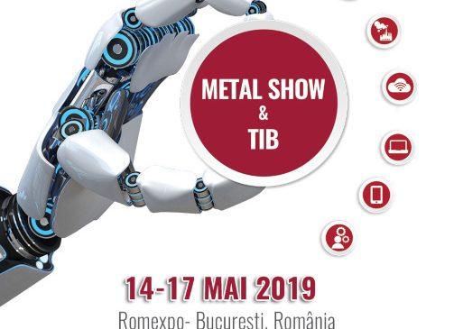Marti incepe METAL SHOW & TIB la Romexpo