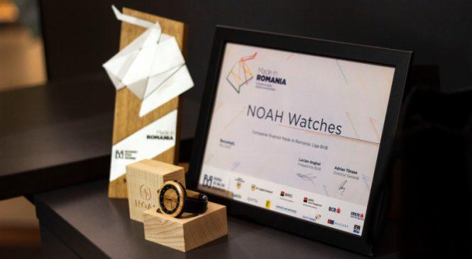 "Start-up-ul clujean, Noah Watches, finalista celei de a III-a editii ""Made in Romania"""