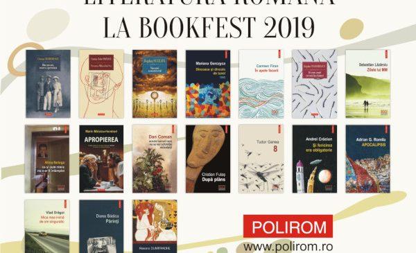 Editura Polirom la Bookfest 2019. Titluri noi, evenimente și reduceri