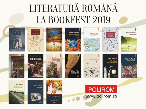 Noutati Literatura Romana Bookfest 2019