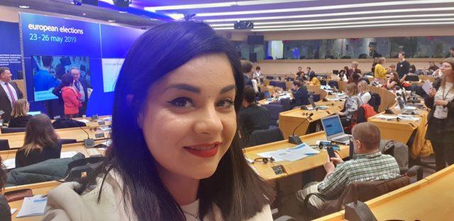 Oana Tache, Parlamentul European