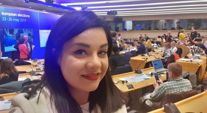 Oana Tache, despre implicare socială și importanța prezenței la vot, în calitate de unic reprezentant român ales de Parlamentul European