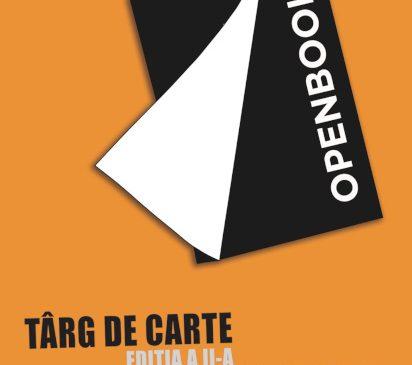 """Târgul de carte în aer liber """"Open Book"""" la Arad"""