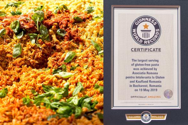 Record Guiness, Chef Foa, ARIG si Kaufland Romania la targul Happy Gluten Free