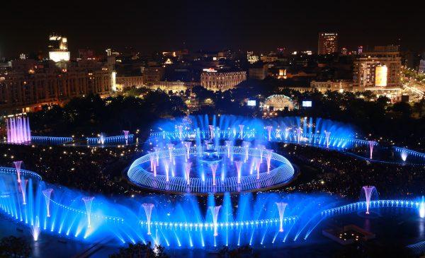 Noul sezon al evenimentului urban SIMFONIA APEI debutează pe 4 mai, cu începere de la ora 21.00
